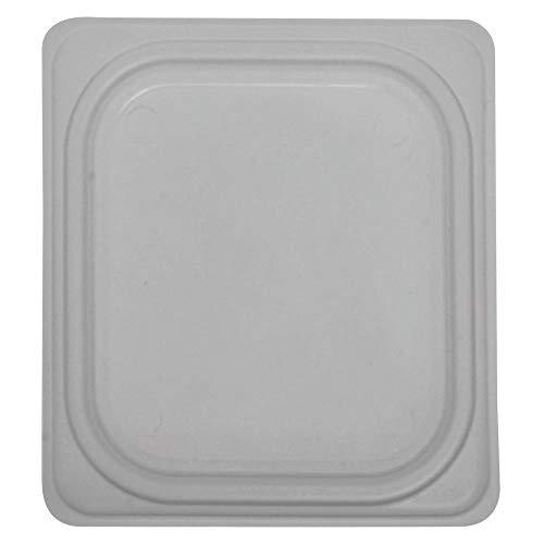 Cambro Translucent Polypropylene Food Pan Lid - 1/6 Size, 1 per Case