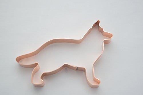 Biscuit Dog Ornament (No. 1 German Shepherd Dog Cookie Cutter)