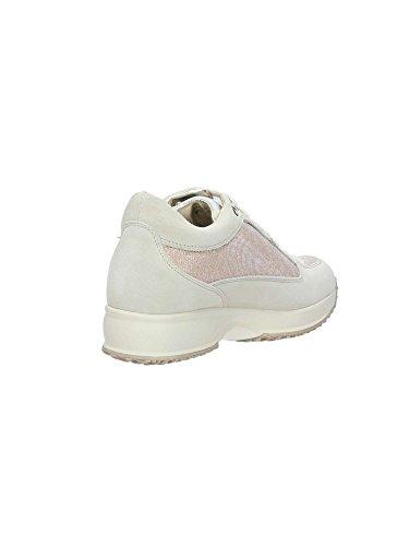Calzature Lumberjack SW01305 e Comode Donna Sneakers Scarpe Crema Cream Grigio SvqfHwS0
