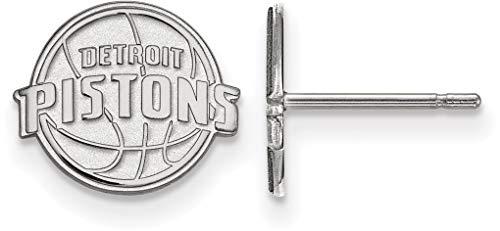 - Sterling Silver NBA Detroit Pistons X-Small Post Earrings by LogoArt