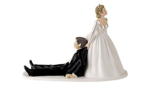 Wilton Now I Have You Cake Topper Bride Groom Cake