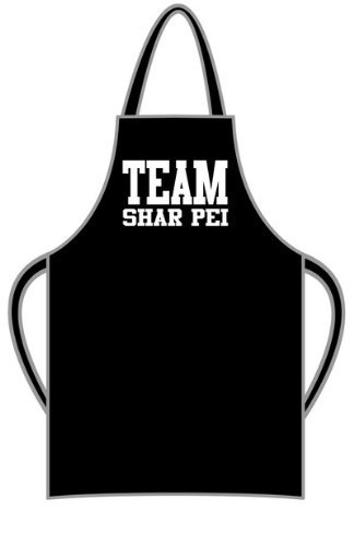 Team Shar Pei Apron - wrapping and gift message service available by Bertie's Brand