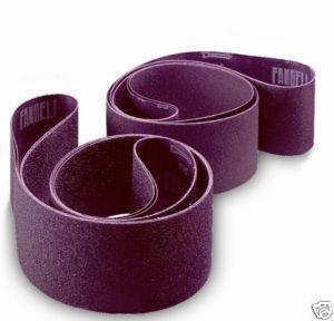 6 Inch X 108 Inch 320 Grit Sanding Edge Narrow Belts - 4 Pack Fandeli Deer Fos 6 x 108 320 Grit