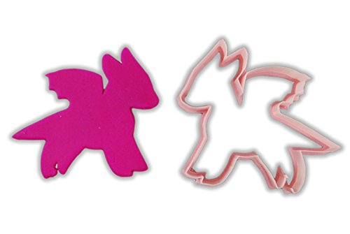 Cute Dragon Cookie Cutter - LARGE - 4 Inches