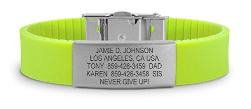 road-id-bracelet-the-wrist-id-slim-2-identification-bracelet-id-wristband-child-id-and-sport-id-fits