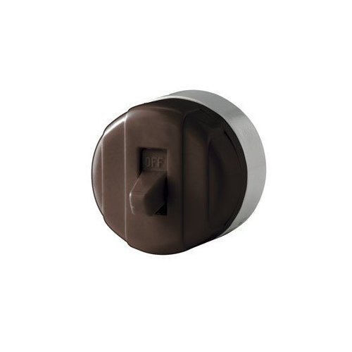 (Cooper Wiring Surface Mount Switch Heavy Duty 10 A 125 V Brown Bulk)