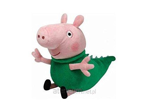 TY Peppa Pig Beanie Baby Plush - George Dinosaur Pig 15cm by Soft (Peppa Pig Beanie Baby)