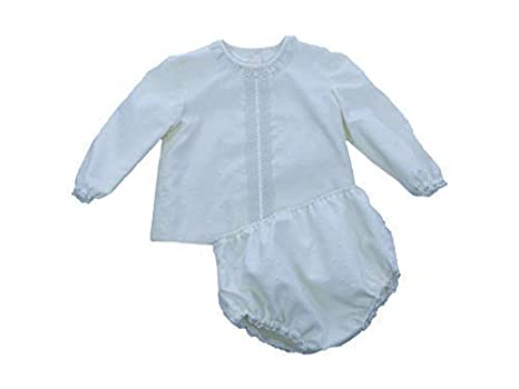 72d2c7c12 MI HIJA Y YO Conjunto Blusa y Ranita en Plumeti y Batista Colección Azalea  para Bebés