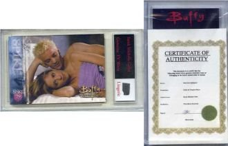 Sarah Michelle Gellar Authentic Worn Lingerie Swatch