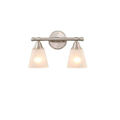Hampton Bay GJK1392A-2/BN Light Brushed Nickel Vanity Sconce