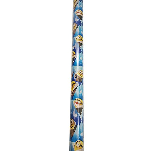 Gift Wrap ~ WINTER MINIONS ~ Wrapping Paper - 1 ROLL