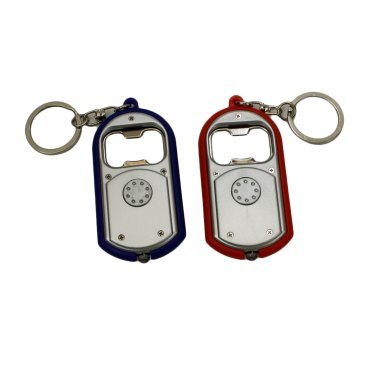 Proctor Silex LED Light and Bottle Opener Key Chain - Assorted Colors - (Bottle Opener Torch)