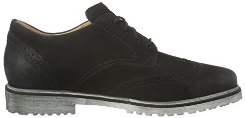 Ganter Dames Frida, Brede F Derby Zwart (black 0100)