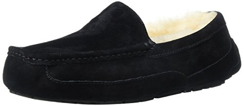 UGG Men's Ascot Slipper, Black, 7 3E US by UGG