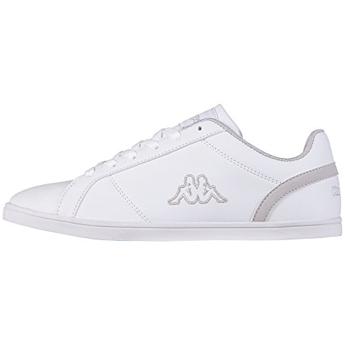 Kappa Tasu Footwear Women, Synthetic - Zapatillas Mujer Gris - Grau (1014 white/l'grey)