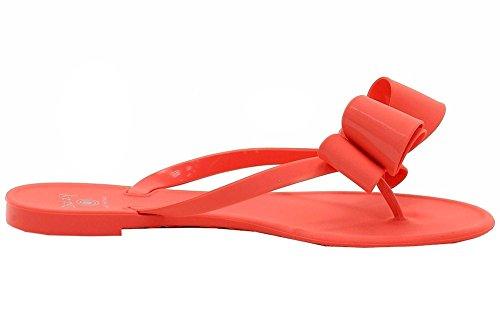 Sandali Infradito Corallo Sandalo Flip Flop Da Donna