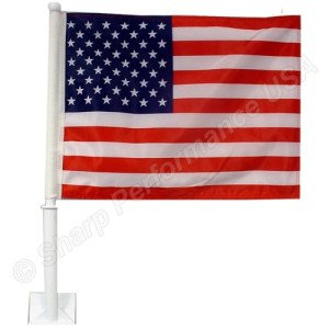 SHARP USA Car Window Flag