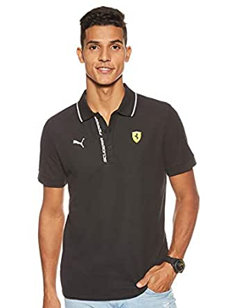 Puma Men'S Sf Polo, Puma Black, S