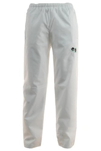 Unisex Fit Waterproof Windproof Lawn Bowling Bowls Wear Bowls Trouser Elasticated Adjustable waist White XXL