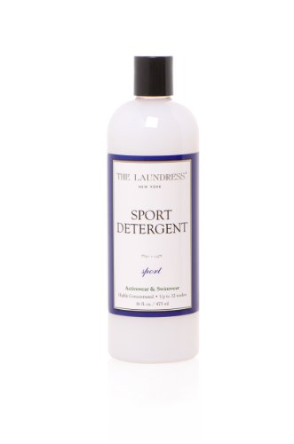 The Laundress - Sport Detergent, Sport Scent, Activewear & Swimwear, Sweat Stain & Odor Remover, 16 fl oz, 32 washes