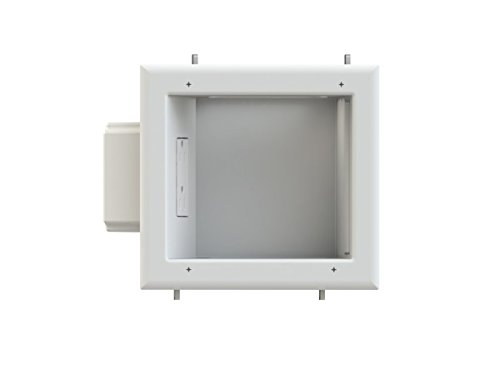 Monoprice Recessed Media Box II with 15A 125V Duplex Receptacle
