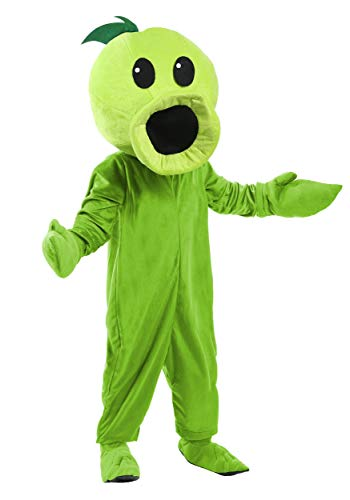 Toddler's Plants Vs Zombies Peashooter Costume 4T Green -
