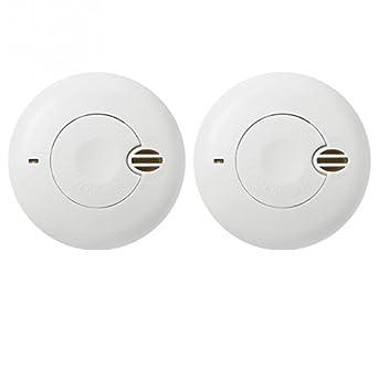 angeleye - 2 Detectores de humo angeleye Original Duo So de 501 - Ae de duración de la batería 1 año - 5 años de garantía: Amazon.es: Iluminación