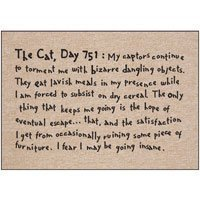 The Cat Day 751 Funny Doormat ()