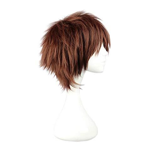 Wig High Temperature Silk Men'S Wig Headgear -