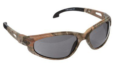 - Edge Eyewear SW116CF Dakura Safety Glasses, Camouflage with Smoke Lens