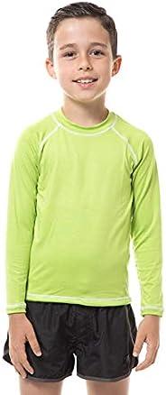 Camiseta Ct Colors Manga Longa Infantil, Uv Line, Meninas