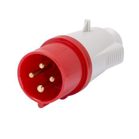 Bianco Gewiss GW60008 presa energia Rosso