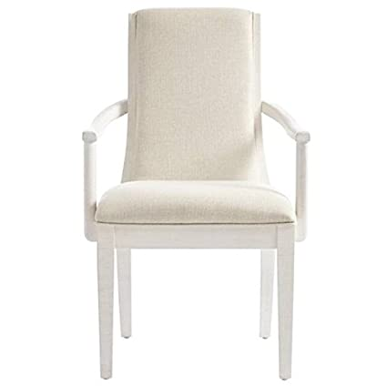 Stanley Furniture Panavista Madagascar Arm Chair In Alabaster