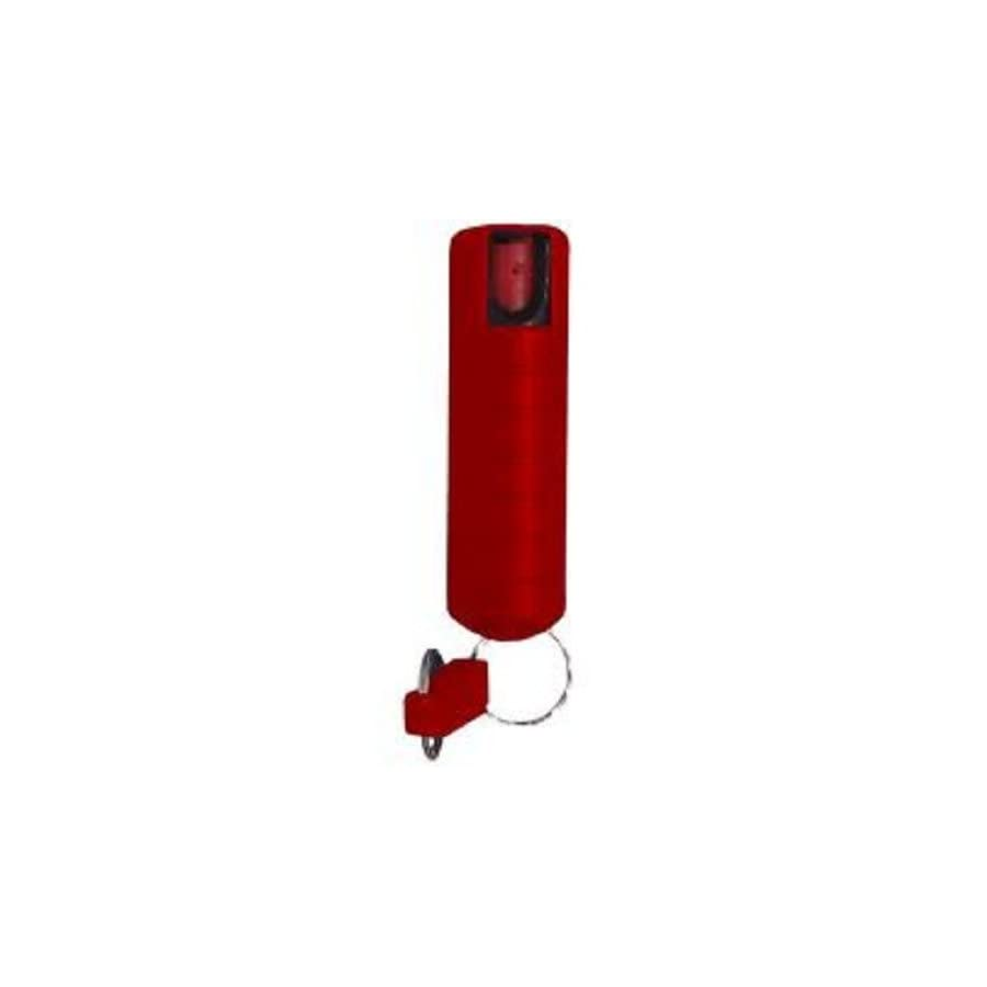 Fox Labs FX 11K RED Mark 8 Personal Pepper Spray with Key Chain, Red
