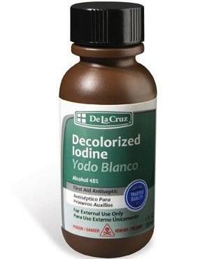 Yodo Blanco décolorée iode 1 once (3-Pack)