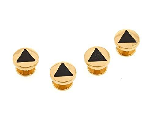 Cufflinks House Black Triangle
