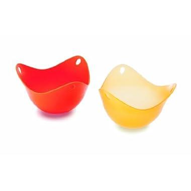 Fusionbrands® PoachPod Silicone Egg Poacher - Orange