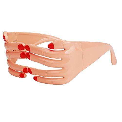 Finger Lunettes Masques F Costume Eyewear Fête Verres Classique Fityle Shaped Festival Fournitures qvZnYESFYx