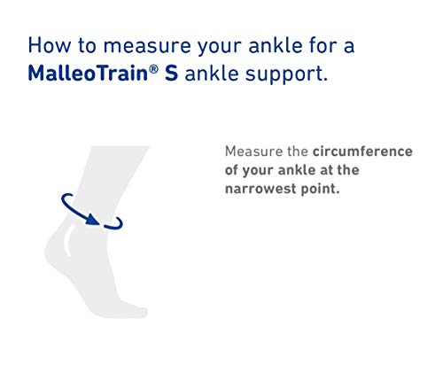 Bauerfeind - MalleoTrain S - Ankle Support - The Ankle Support You Need Doing Physical Activity - Right Foot - Size 3 - Color Black by Bauerfeind (Image #2)