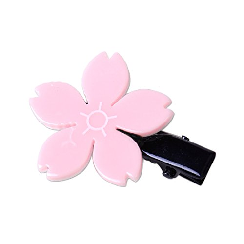 Sakura Shape Flower Hairpin Hair Clip Card Headdress Baby Girl Kid Decor Gift ()