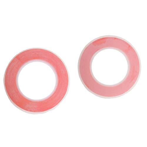 Fenteer Cinta Adhesiva Doble Cara Para Pelucas Pechos Del Cuerpo Cinta Adhesiva Para El Protector De La Pantalla Del...
