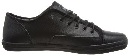 Quiksilver Ballast - Zapatillas de lona para hombre negro - Black/Black Gum