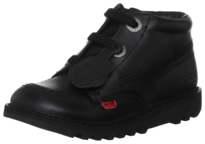 Kickers Kick Phat12 Black Classic Boot 1-11562 3 UK Youth