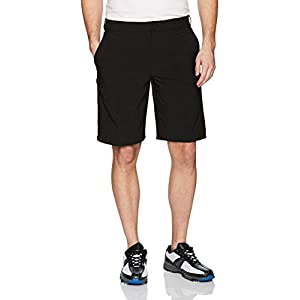 IZOD Men's Golf Swingflex Flat Front Short