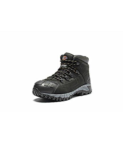 Dickies Medway-Stivali di sicurezza, da uomo Nero (nero)
