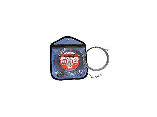 - Momoi Hi-Catch Diamond Fishing Products Wahoo High Speed Shock Leaders - 200lb - 24ft - 4Pk