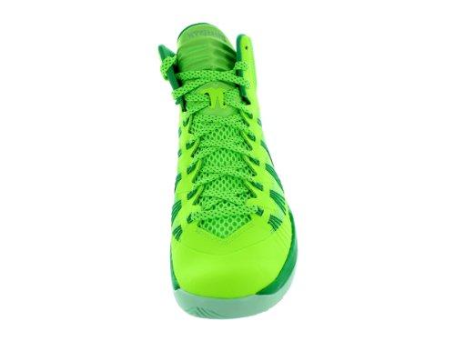 finest selection 9b1f4 1dd9d Nike Mens Hyperdunk 2013 Basketball Shoe Flash Lime Gamma Green Arctic Green
