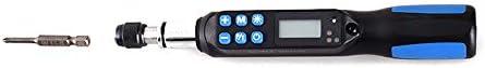 KK moon コードレストルクスクリュードライバー ポータブル ハンドヘルド デジタルディスプレイ バックライト トルクドライバー SDW4-400AN