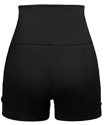 Buy black short pants for teens