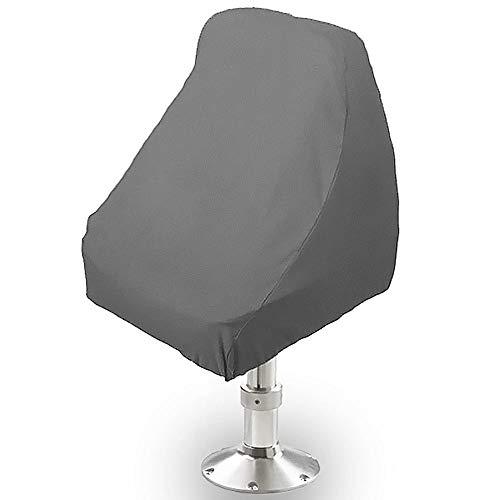 North East Harbor BSC-001 Seat Storage Cover (Boat Helm Helmsman Bucket Single-21 L W X 24' H-Gray)